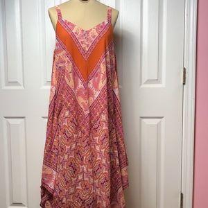 A U W Long Tank  Dress